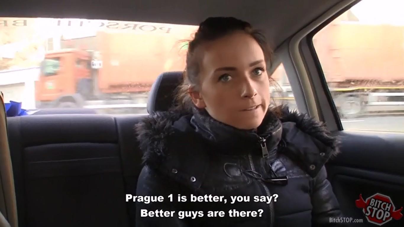 Kristyna fucks in BitchStop episode