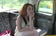 FakeTaxi – Redhead Teen Screw With Taxi Driver