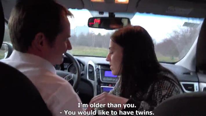 Czech Twins E07 HD – Twins Fucked Taxi Driver