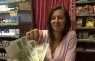 Czech Streets 77 – Horny Shopgirl Gets Huge Load