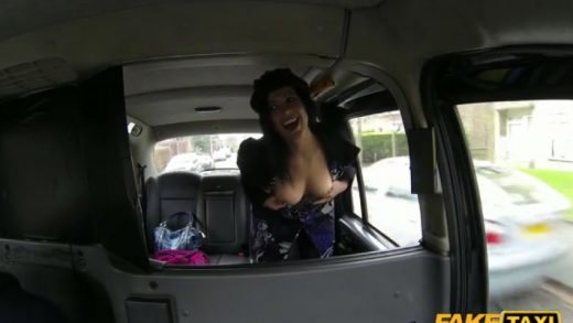 image Fake taxi driver shooting cum on blonde girl