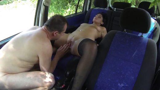 Bitch Screw In Car For Money
