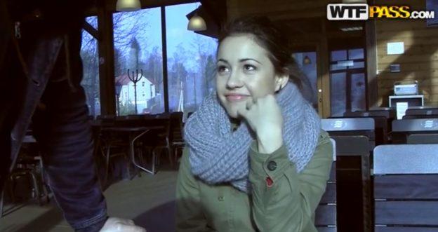Threesome Teen Russian Public