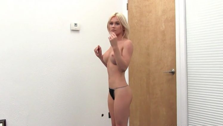 Backroom Casting Couch – An Amazing Hot Blonde HD