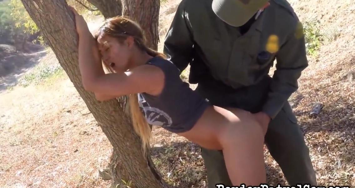 Border patrol sex hd guy humped her mouth