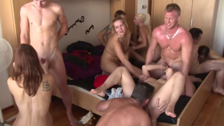 Czech Home Orgy 9 – Part 5 HD