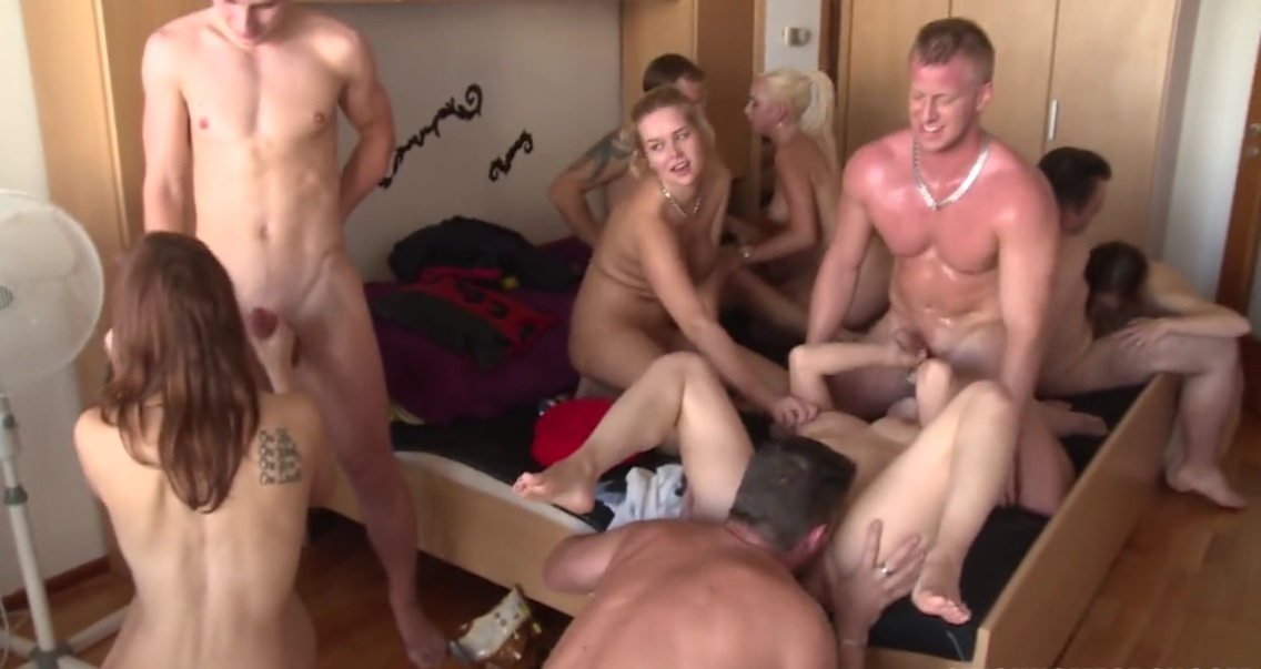 free group sex movie clip