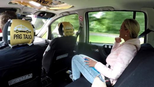Blonde Whore Sucks Taxi Driver Dick
