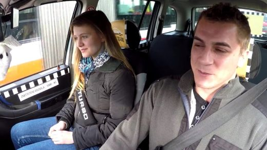 Taxi Driver Lick Young Girl Pussy