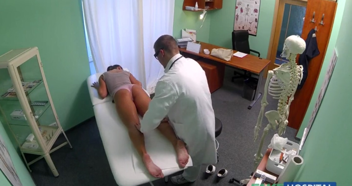 ... Cheating Wife Gets Huge Load By A Doctor