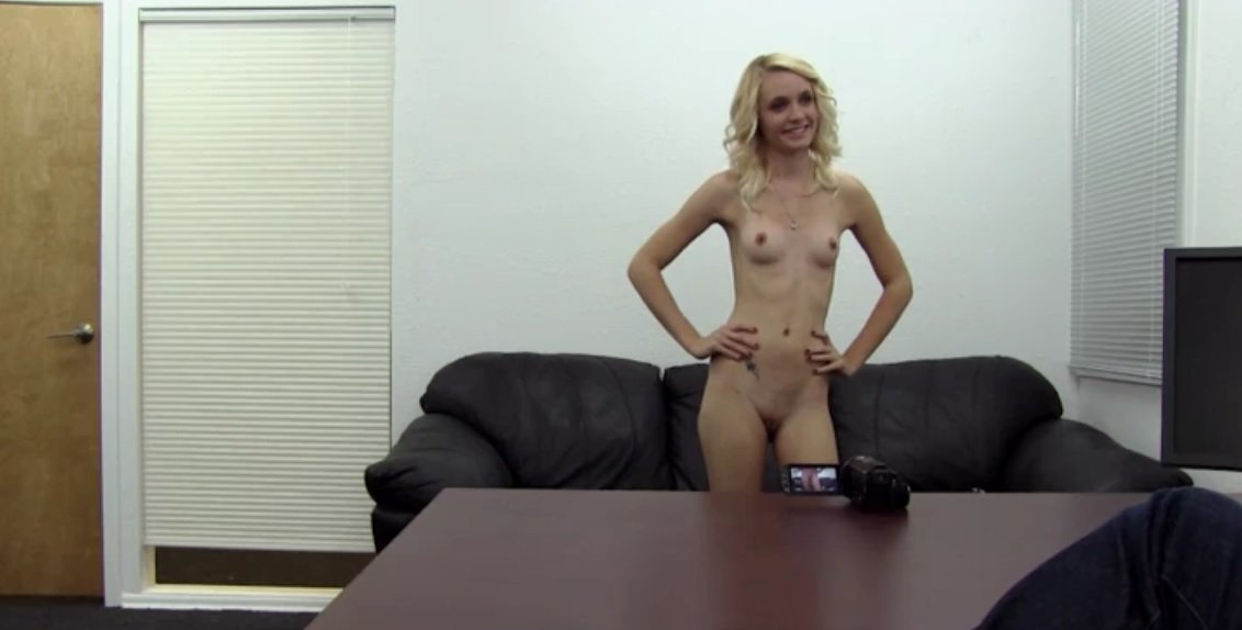 First anal casting couch