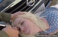 BorderPatrolSex – Blonde Have Migration Troubles HD