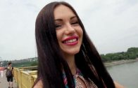 PublicPickUps – Sasha Rose – Russian Brunette Fucks Outdoors HD