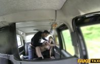FakeTaxi – Horny Couple Get It On In Rear Of Cab