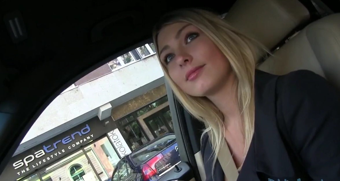Public agent sexy teacher agnes white fucking in a car for e 3