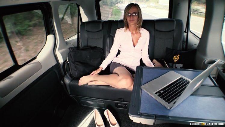 FuckedInTraffic – Jenny Smart Seduces Van Driver