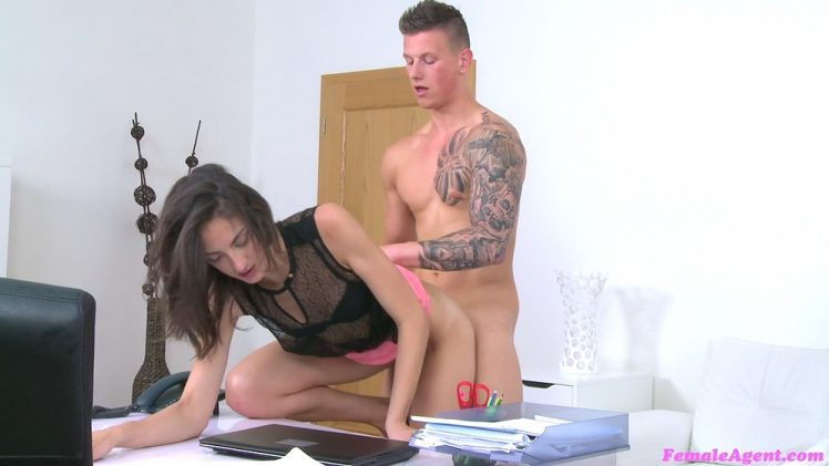 FemaleAgent E376 – Miky – Stud's Body Gives Agent a Wettie