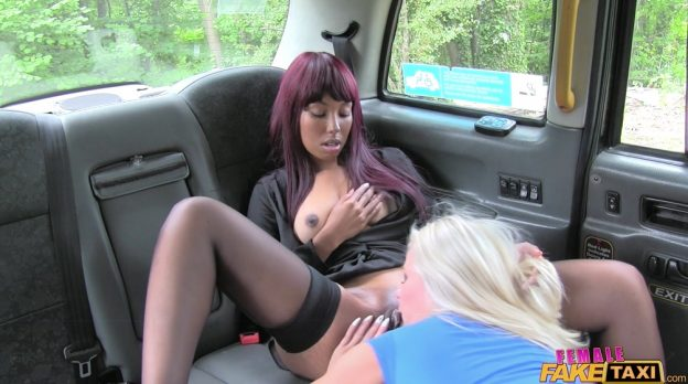 FemaleFakeTaxi Michelle And Sade