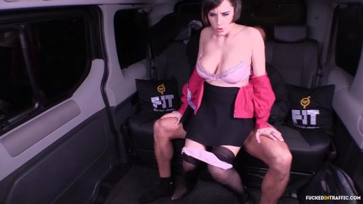 Fuckedintraffic czech slut fucked on the backseat of a car