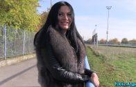 PublicAgent E430 – Ukraine Babe Amanda Black