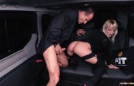 FuckedInTraffic – Horny Blonde Widow Katy Rose
