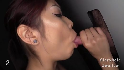 Asian Whore Sucks Ten Dicks And Swallow Their Cum.