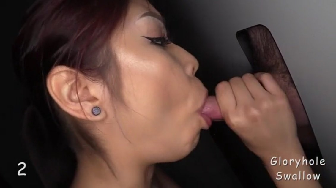 With Hot asian swallow cumshot com play