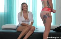 NetVideoGirls – Tiffany Try Threesome