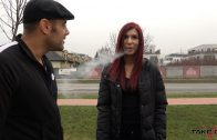 TakeVan – Jessica Takes a Cigarette Break