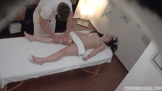Young Babe Enjoy Fucking On Erotic Massage.