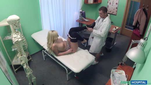 Czech Beauty Blackmail Young Doctor.