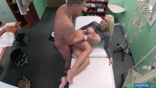 Sexy Slut Fucking Her Young Doctor In His Office.