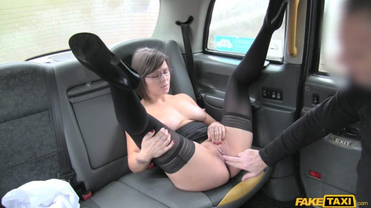 FakeTaxi E409 – Jamie Ray Gets Cumshot On Glasses