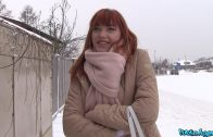 PublicAgent E445 – German Redhead Anny Aurora Eats Jizz