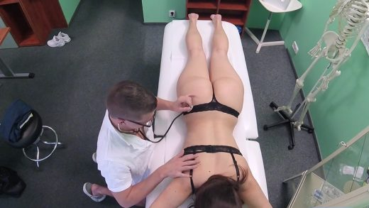 Young Czech Babe Sucks Doctor Dick.