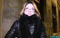Public Agent – French Tourist Rachel Adjani Fucked in Public Stairwell