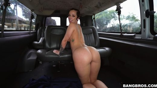 Sexy Chick Has Doggy Style In Bangbus.