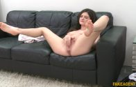Fake Agent – Italian Francesca Dicaprio Likes It Hard on the Couch