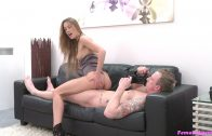 Female Agent – English Stud Cheats with Sexy Agent