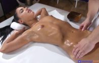 MassageRooms – Paula Shy Fucks On Massage Desk