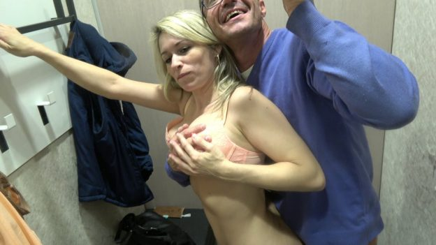 Wife wants to be caught nude