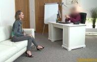 Fake Agent – Agent Cums Over Her Skinny Ass
