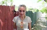 Public Pickups – Friendly Blonde Naomi Woods Fucks in Public