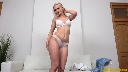 Czech Babe With Hot Body And Small Tight Pussy.