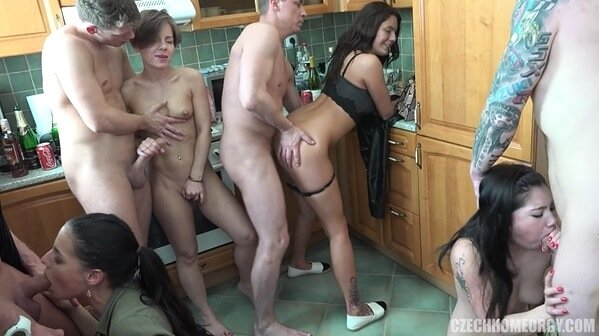 Czech Home Orgy 10 part 9