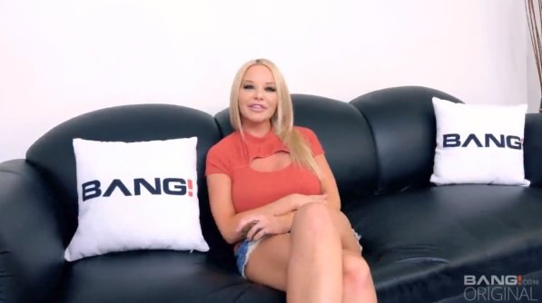 Slut Has Gangbang On Her First Casting.
