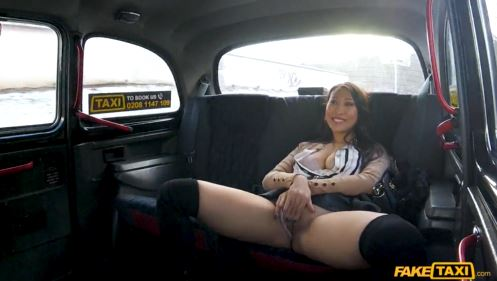 French Asian Loves Public Blowjob.